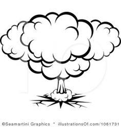 Explosions clipart nuke Lhfgraphics  Doodle Clipart Image