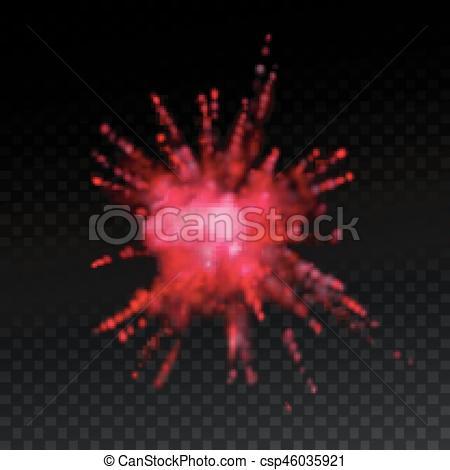 Explosions clipart paint Explosion explosion powder Paint Vector