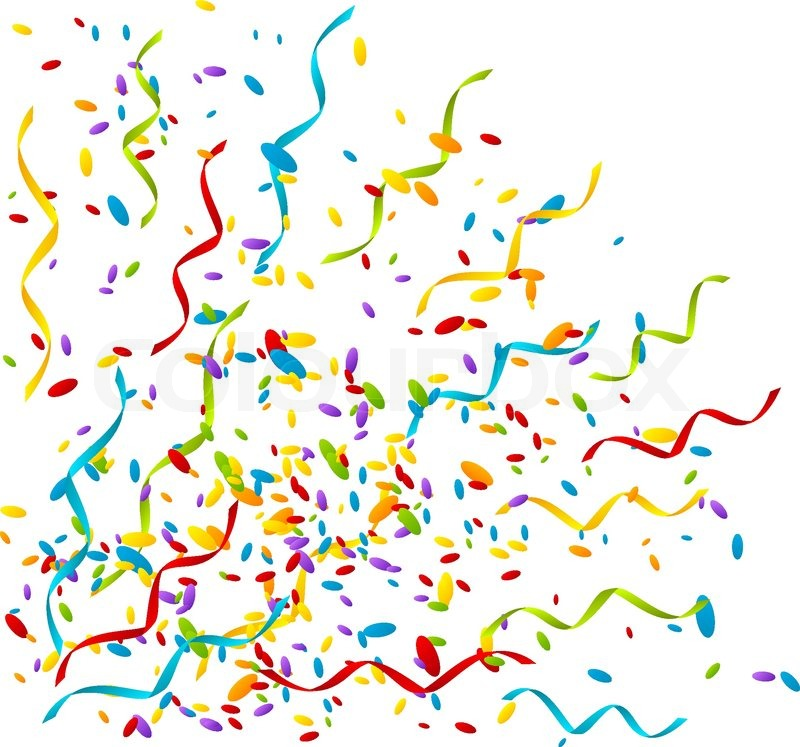 Explosions clipart party Others Clipart Confetti and Art
