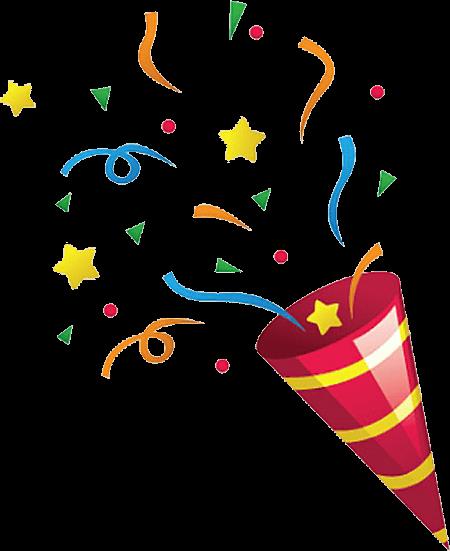 Explosions clipart party Confetti Explosion Explosion Confetti PNG