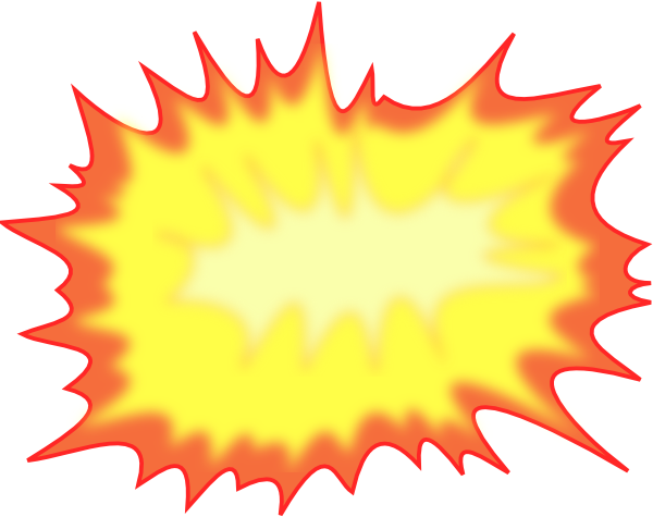 Explosions clipart scientist Clker clip com at as: