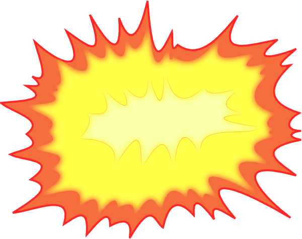 Explosions clipart small Small Clker at PNG: Clip