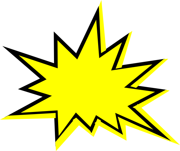 Yellow clipart explosion Starburst%20clip%20art%20outline Images Outline Free Panda