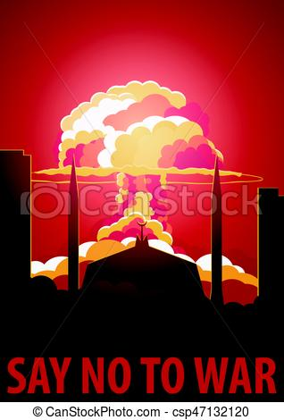 Explosions clipart war The Illustration to of Vector