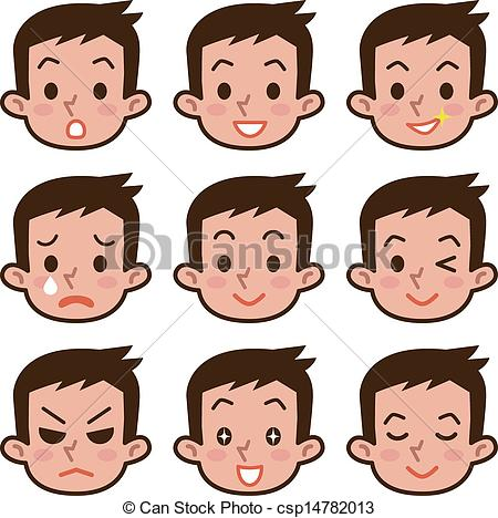 Expression clipart Clipart expression emotions collection Expression