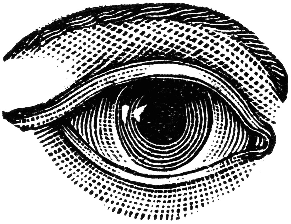 Eye clipart For white and art clipart