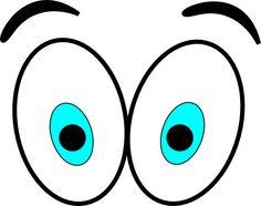 Comic clipart eye Eyes clip art design animated