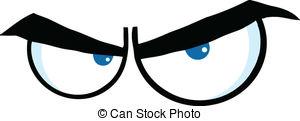 Eye clipart annoyed #11