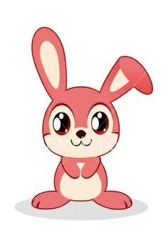 Drawn bunny pink bunny This  for ImagesCute needs