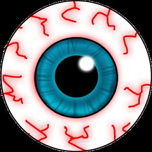 Eye clipart drunk #6