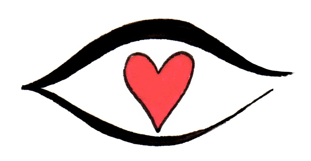 Eye clipart heart #15