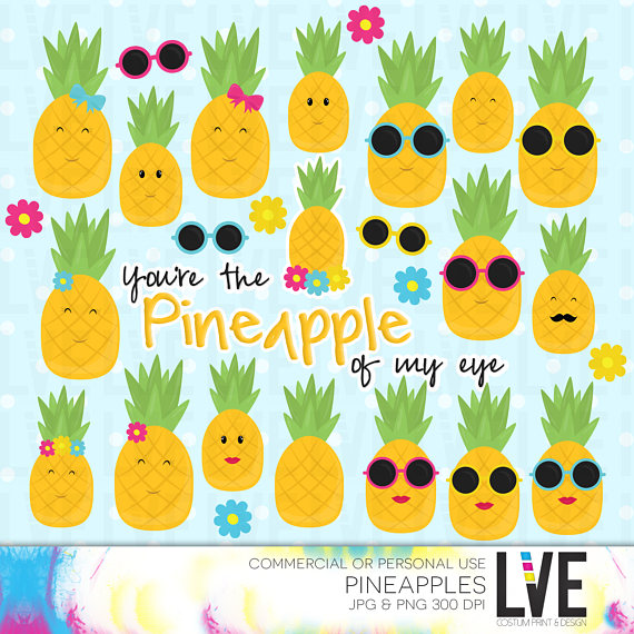 Pineapple clipart eye Graphics Clipart Gold Pineapple clipart