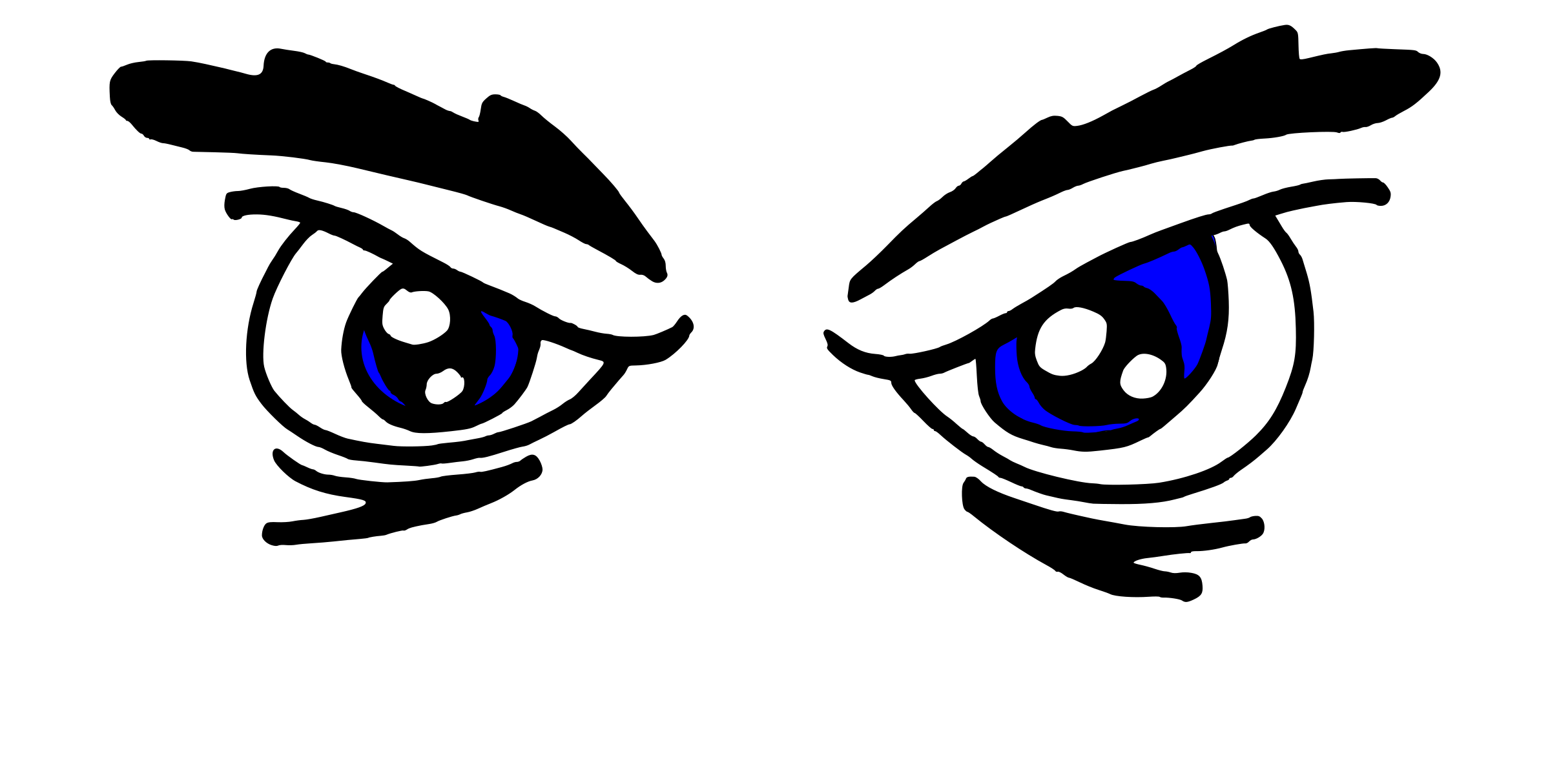 Red Eyes clipart anger #1