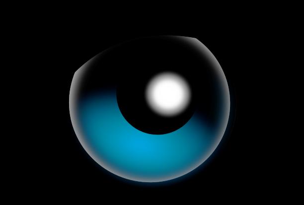 Blue Eyes clipart clipart transparent Transparent Art com Googly Eye