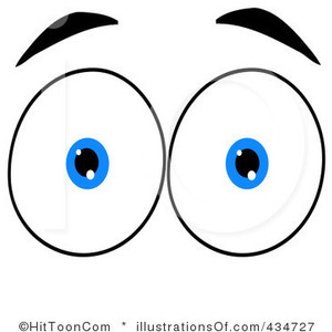 Blue Eyes clipart surprised eye Art Art Eye Clip Blue