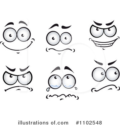 Scary clipart scared eye #7