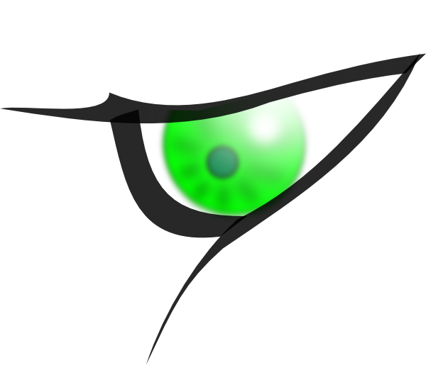 Eye clipart side view #10