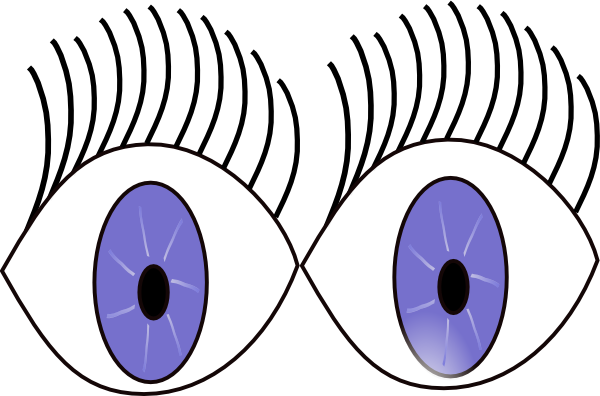 Blue Eyes clipart shock Eyes vector this com at