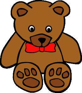 Sad clipart teddy bear #1