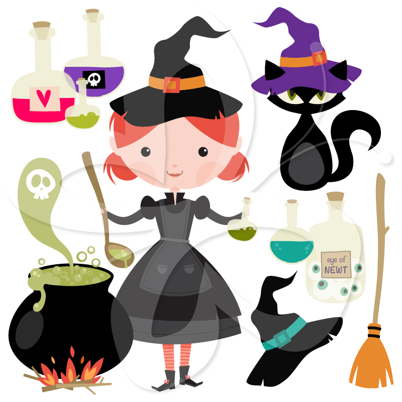 Witch clipart brew Collection Clipart Images Halloween Creative