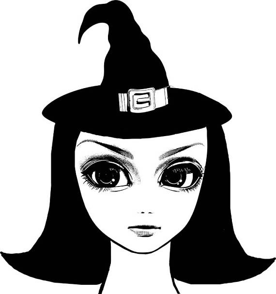 Witch clipart eye On Digital art graphics witch