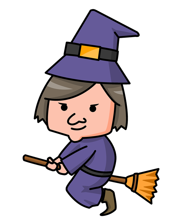 Witchcraft clipart three Witch Clipart Cartoon Witch Download