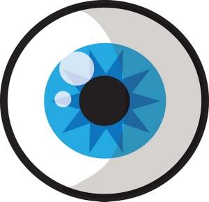 Eyeball clipart Black Clipart Clipart Free Art