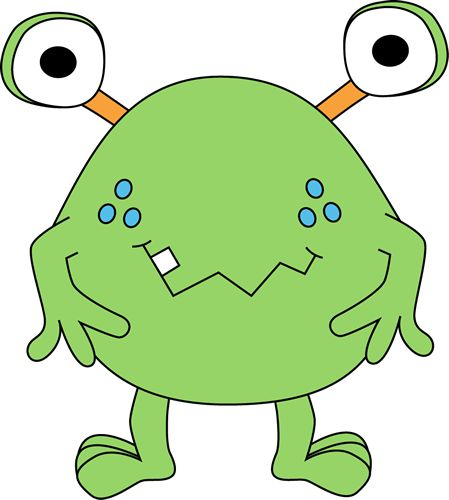 Classic clipart alien On free green about Pinterest