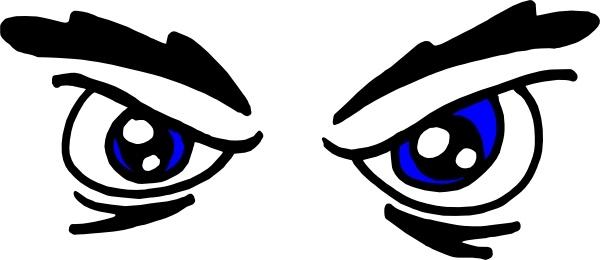 Eyeball clipart angry Eyes vector ( Free clip