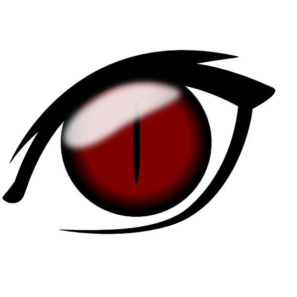 Eyeball clipart angry Clip Com Vector Art Eye1