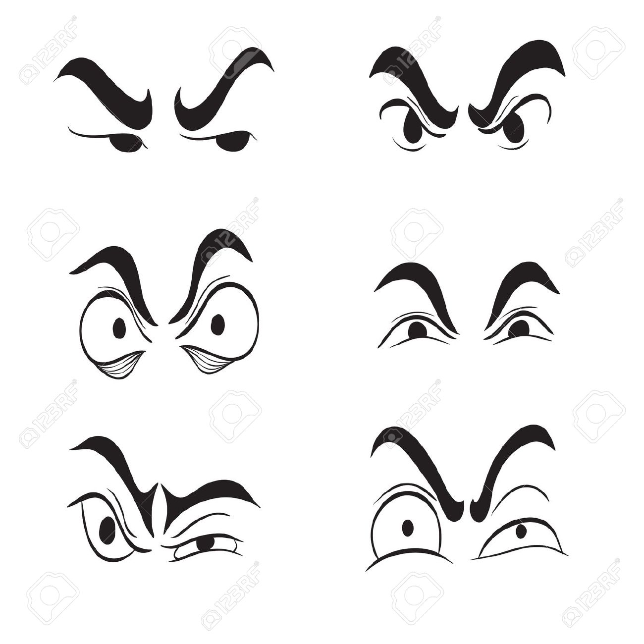Eyeball clipart angry Clipart Eyes 149 20art Clipart