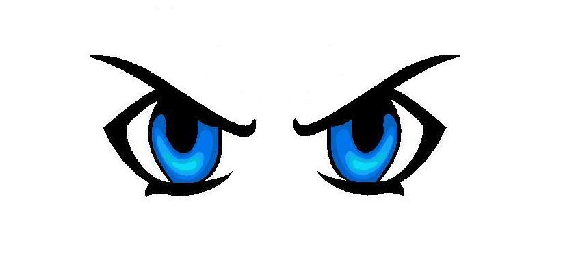 Blue Eyes clipart anime eye Clip Clip Keywords Long on