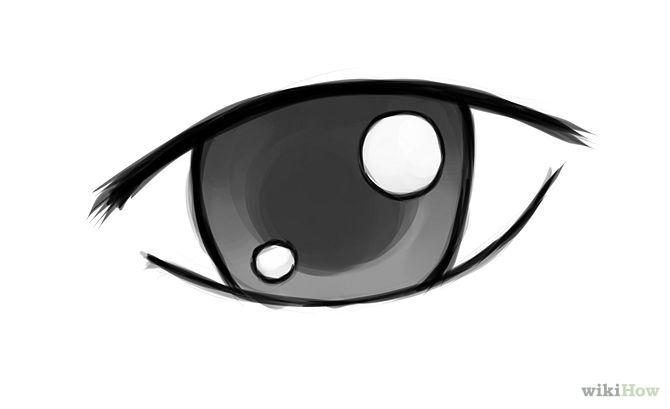 Eyeball clipart anime eye Clipart eyes simple clipart simple