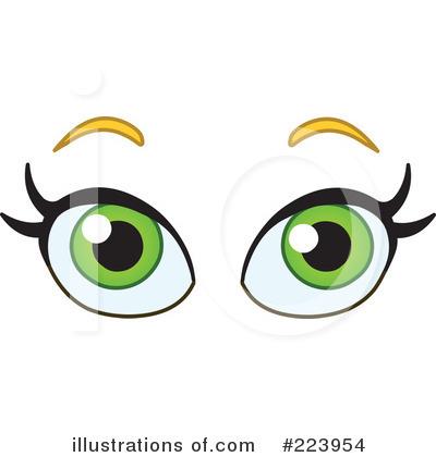 Eyeball clipart baby eye Royalty green Clipart (RF) Free