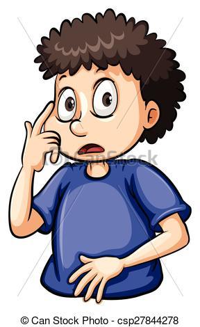 Eyeball clipart boy At Boy Illustration csp27844278 Fat