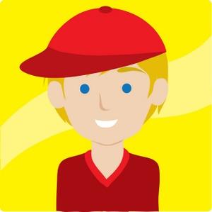 Eyeball clipart boy Cartoon clipart Hurt An Injured