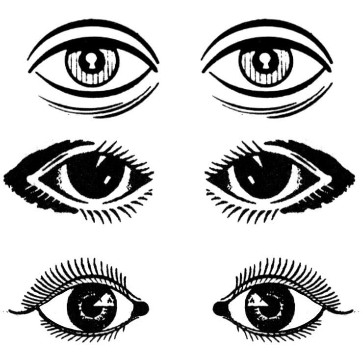 Eyeball clipart boy  Download cartoon library Art