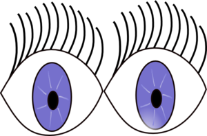 Eyeball clipart child eye Kids WikiClipArt Eyes for images