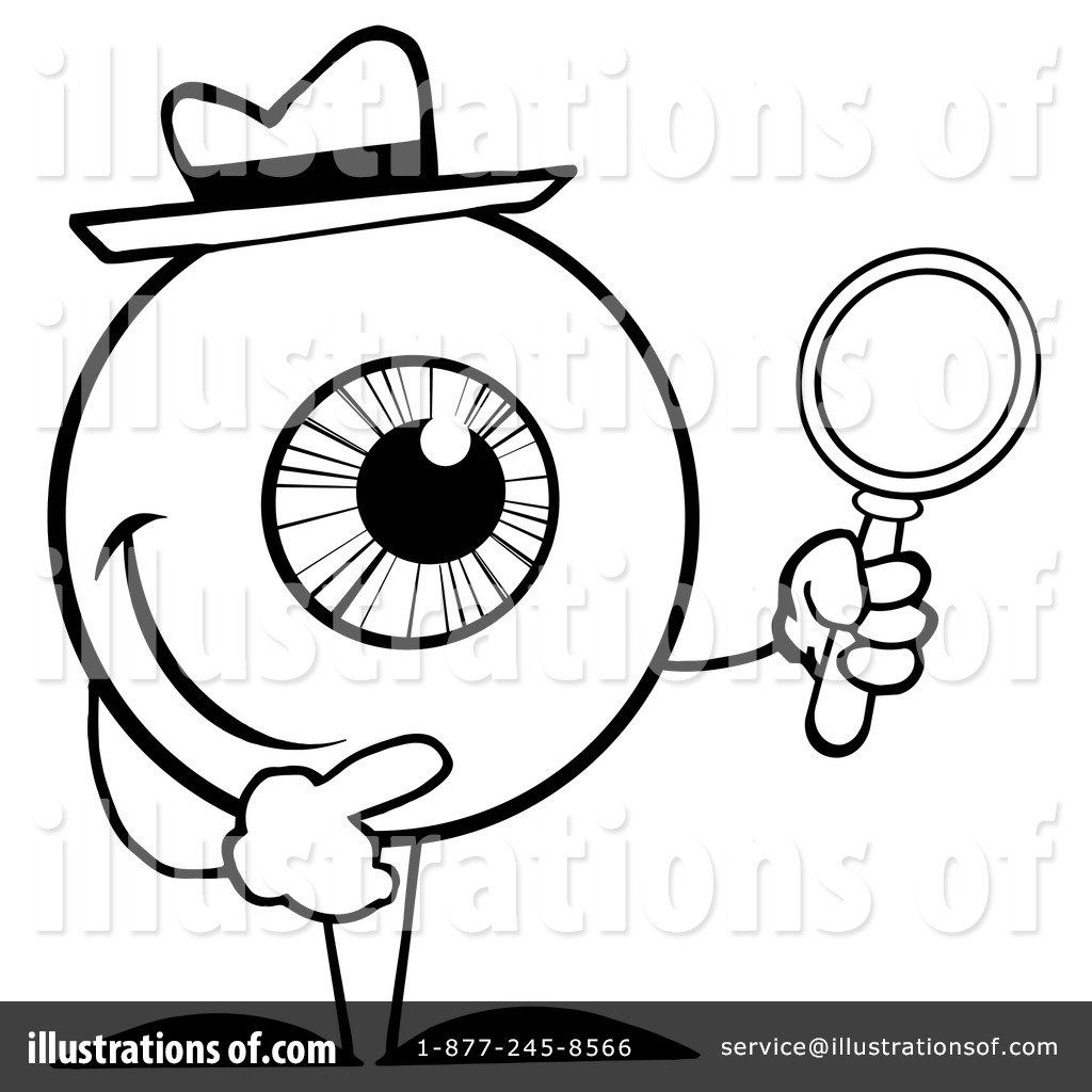 Eyeball clipart detective Toon #1095582 #1095582 Detective by