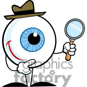 Eyeball clipart detective Free Free magnifying%20glass%20detective%20clipart Clipart Images