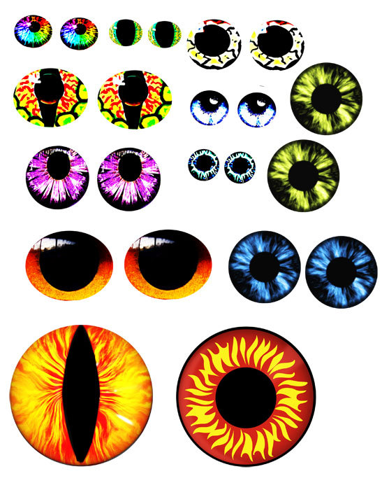 Zombie clipart eyeball Awesome I listing Colored ContactsEye