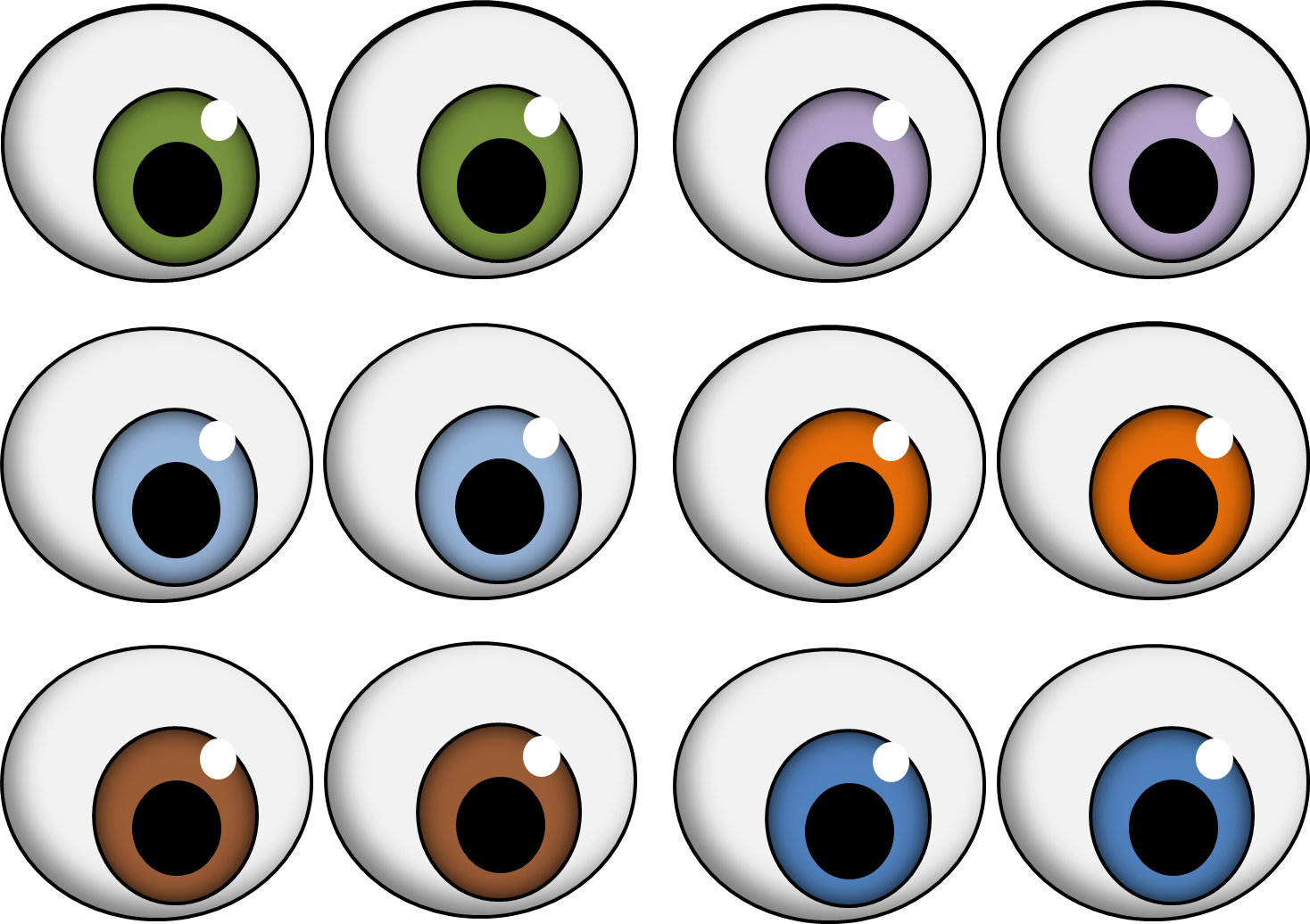 Red Eyes clipart googly eye Clip Printable monster clipart mouth