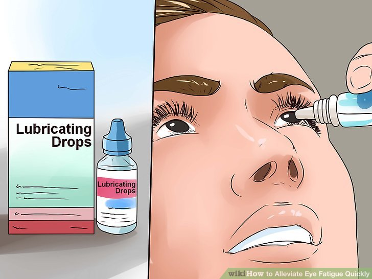 Eyeball clipart eye strain Image Alleviate wikiHow titled Fatigue