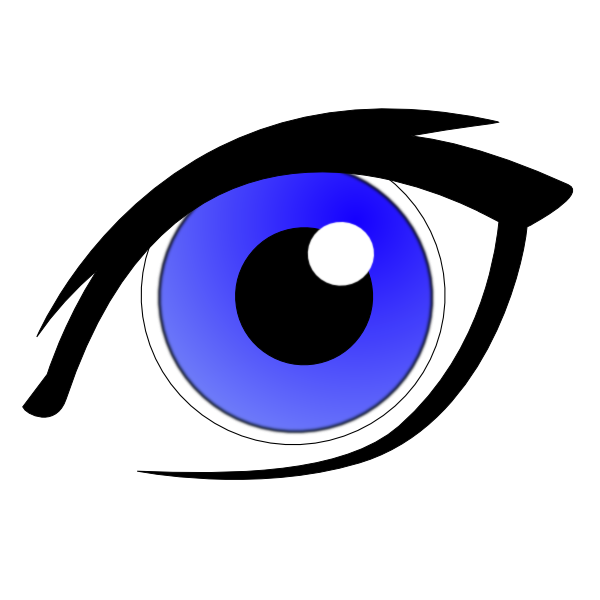 Blue Eyes clipart clipart transparent Clip Blue at Eye Download