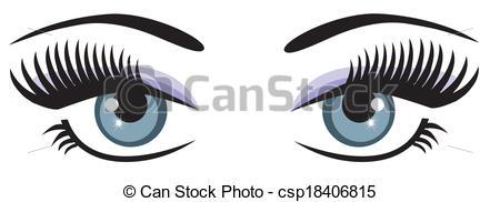 Blue Eyes clipart one eye Clipart blue Eyes Clipart Vector