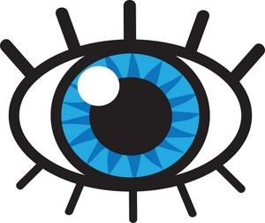 Eyeball clipart graphic Free eye illustrations eye stock