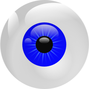 Blue Eyes clipart eyeball Cliparts halloween Eyeball eye for