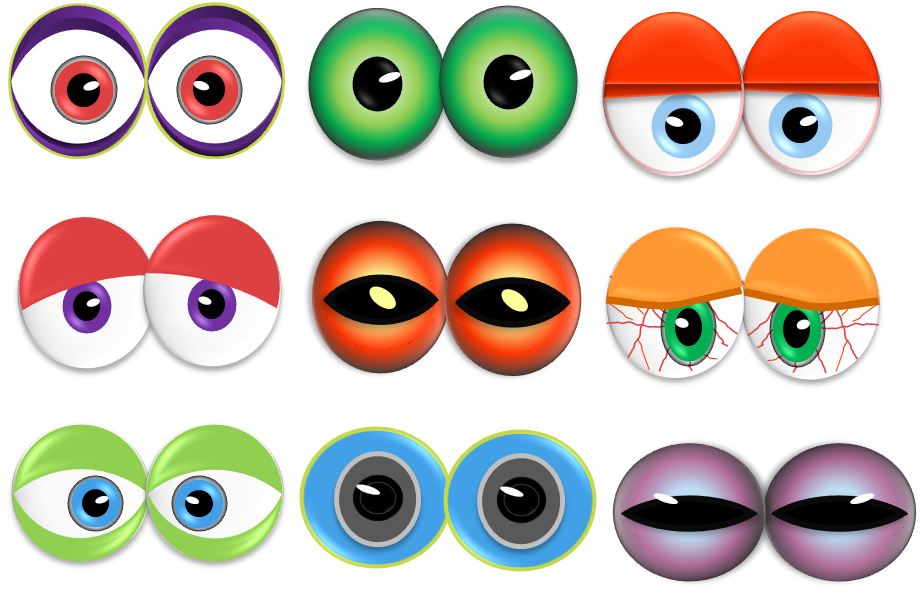 Eyeball clipart high eye Monster Monster Clipart Eyes Download