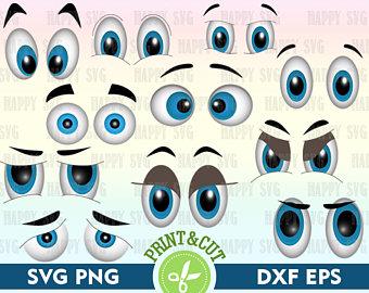 Blue Eyes clipart closed eye Etsy Digital Svg vector Color