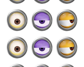 Eyeball clipart minion Eyes MINION Movie Minion Printable